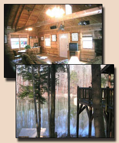 Red River Gorge log cabin for rent Kentucky